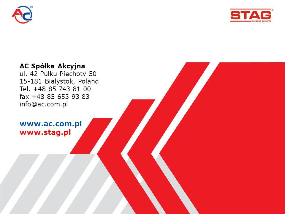 AC Spółka Akcyjna ul.42 Pułku Piechoty 50 15-181 Białystok, Poland Tel.