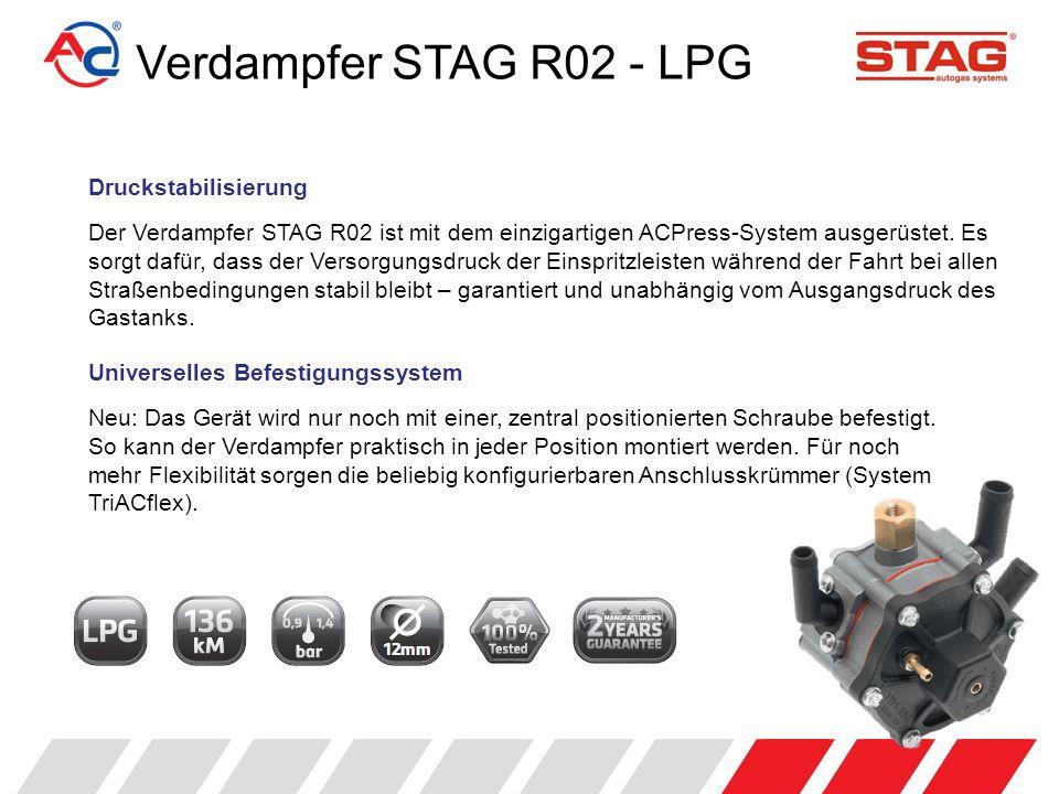 Verdampfer STAG R02 – LPG Aufbau
