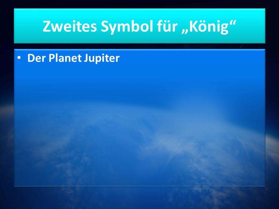 """Zweites Symbol für """"König Der Planet Jupiter"""