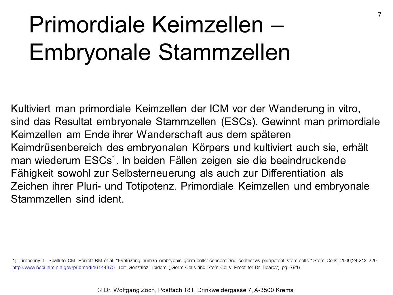 © Dr.Wolfgang Zöch, Postfach 181, Drinkweldergasse 7, A-3500 Krems Vagante bzw.