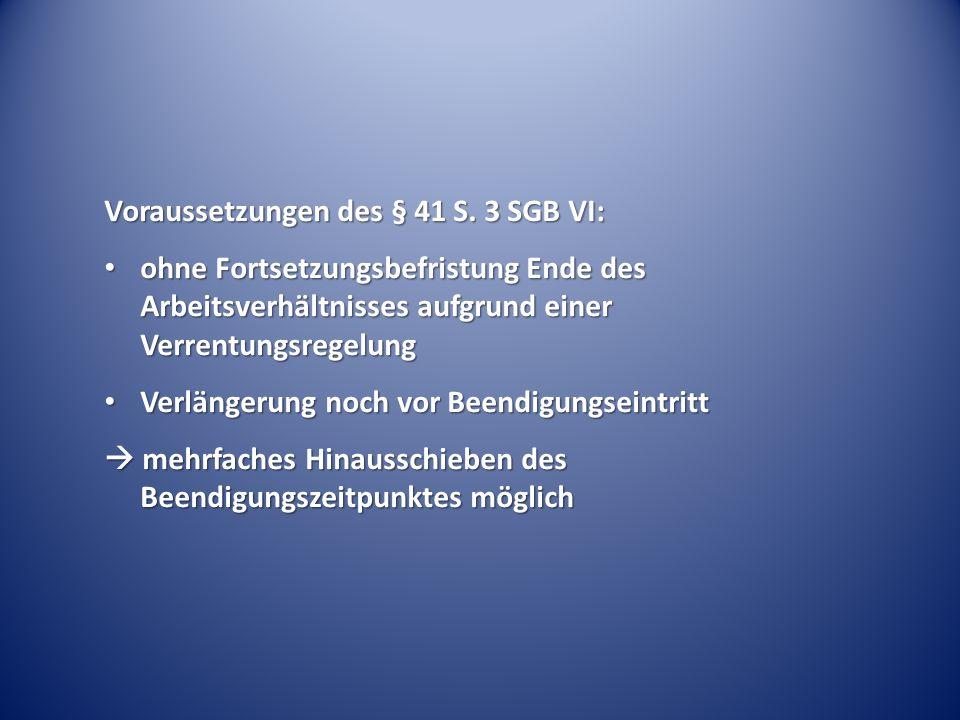 Voraussetzungen des § 41 S.