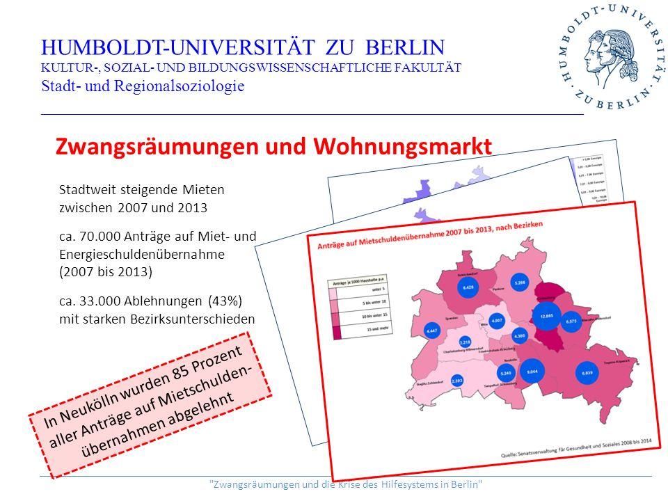 Ökonomie der Ertragserwartung HUMBOLDT-UNIVERSITÄT ZU BERLIN KULTUR-, SOZIAL- UND BILDUNGSWISSENSCHAFTLICHE FAKULTÄT Stadt- und Regionalsoziologie _________________________________________________________________