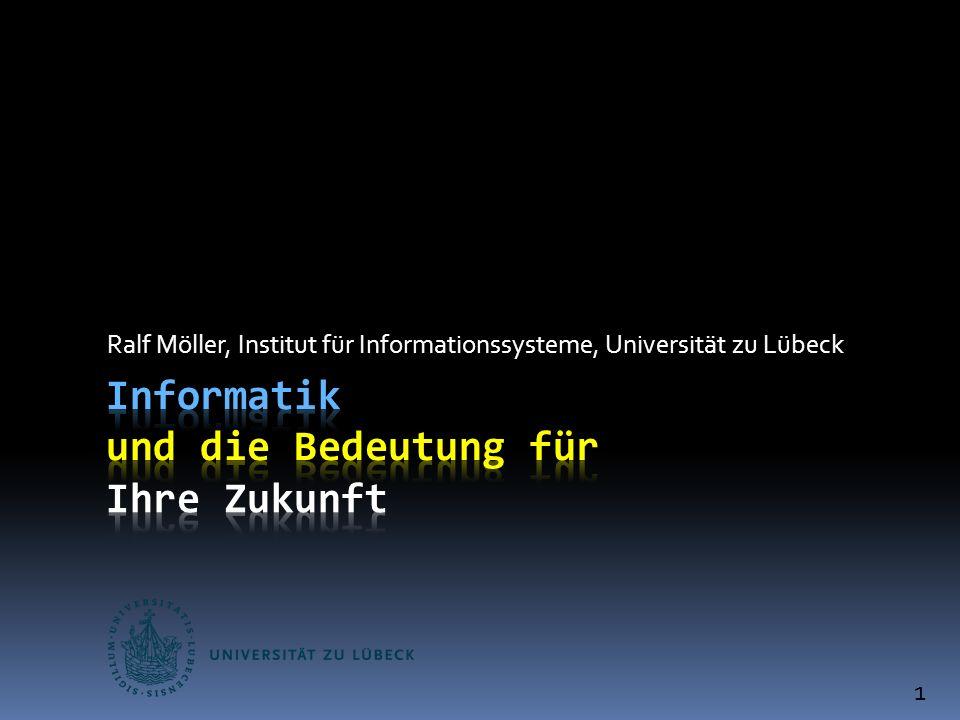 Ralf Möller, Institut für Informationssysteme, Universität zu Lübeck 1