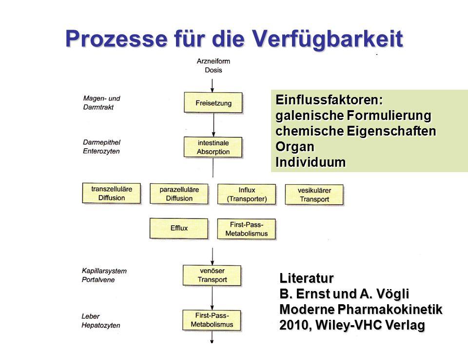 Prozesse für die Verfügbarkeit Literatur B.Ernst und A.
