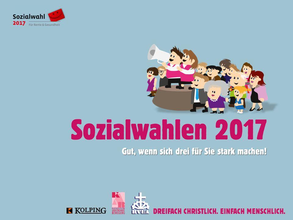 Gliederung I.Soziale Selbstverwaltung und Sozialwahlen 2017 II.ACA  Selbstverständnis  Wahlprogramm III.Mobilisierung