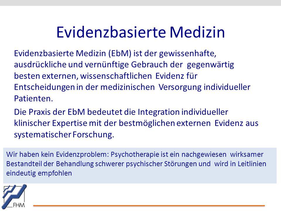 PProrof.f. Dr.Dr. KlKlingingbbeergrg Evidenzbasierte Medizin Evidenzbasierte Medizin (EbM) ist der gewissenhafte, ausdrückliche und vernünftige Gebrau