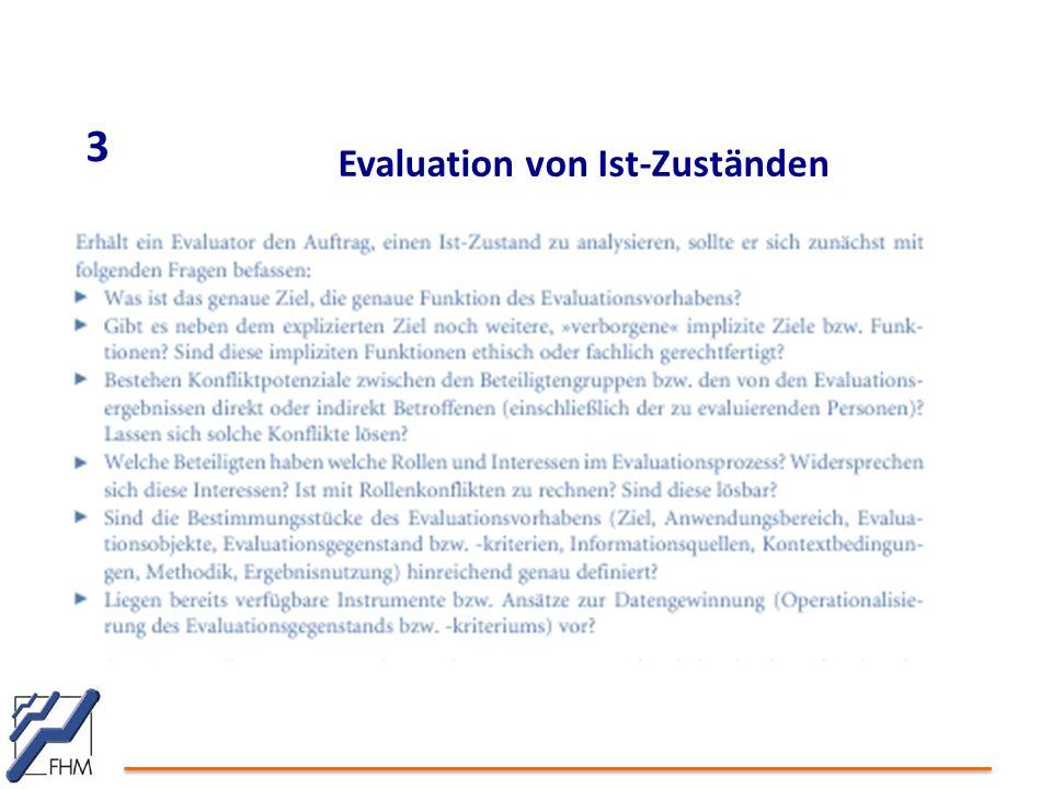 3 Evaluation von Ist-Zuständen