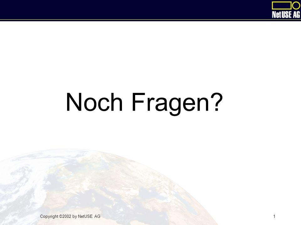 Copyright ©2002 by NetUSE AG1 Noch Fragen?