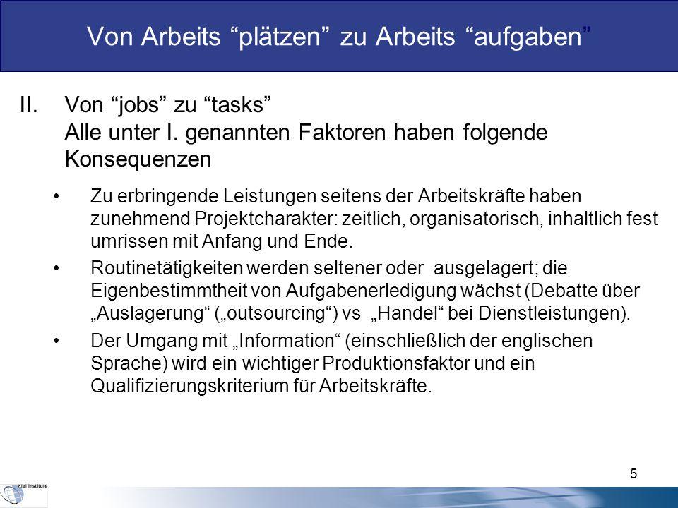 5 II.Von jobs zu tasks Alle unter I.