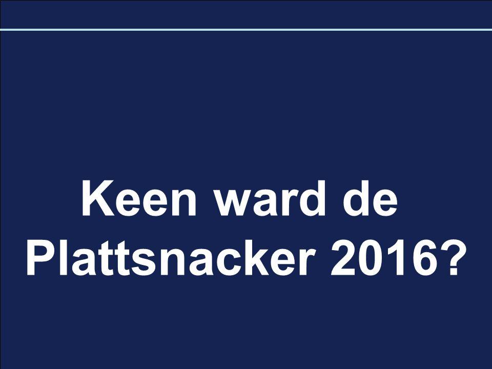 Keen ward de Plattsnacker 2016