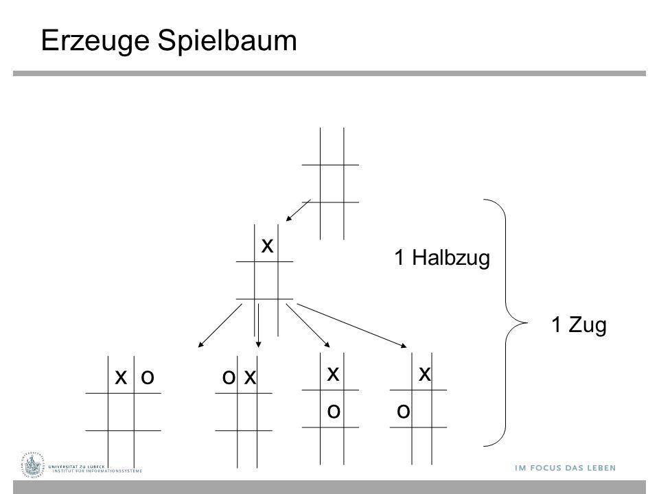 x x o x o 1 Halbzug 1 Zug oxxo