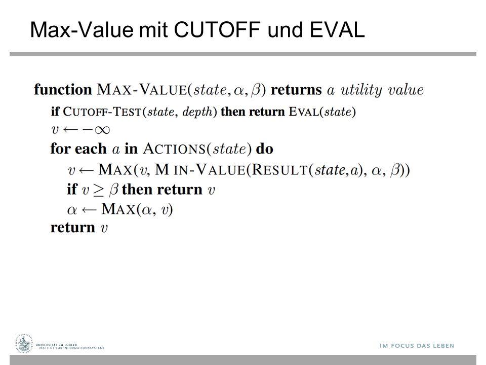 Max-Value mit CUTOFF und EVAL