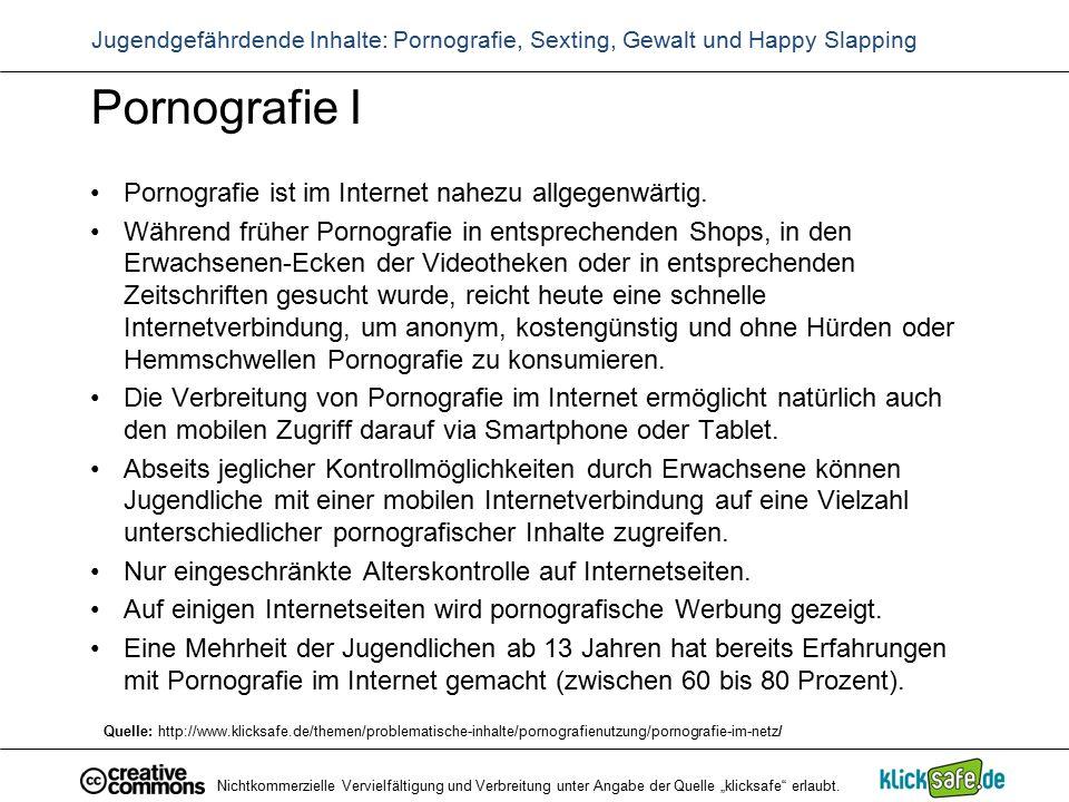 Pornografie I Pornografie ist im Internet nahezu allgegenwärtig. Während früher Pornografie in entsprechenden Shops, in den Erwachsenen-Ecken der Vide