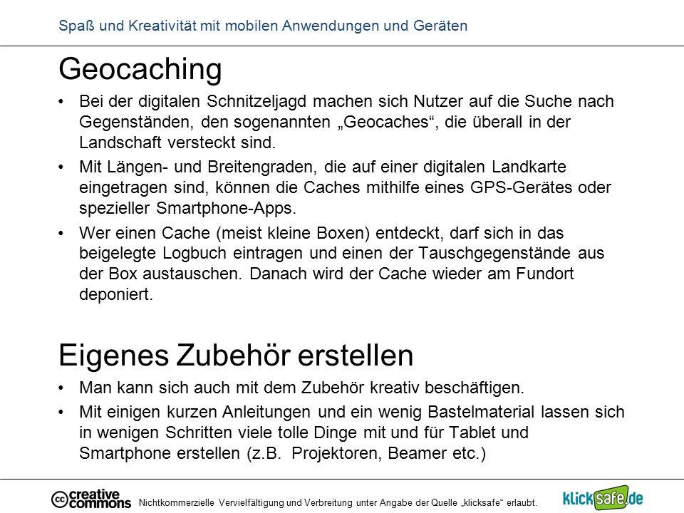 """Geocaching Bei der digitalen Schnitzeljagd machen sich Nutzer auf die Suche nach Gegenständen, den sogenannten """"Geocaches"""", die überall in der Landsch"""