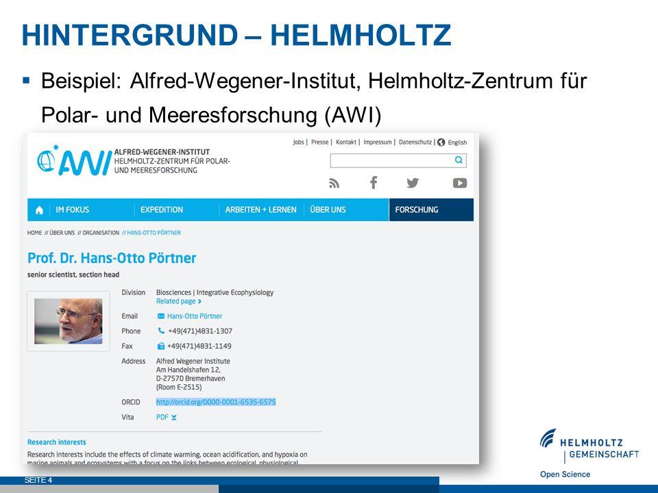 AUSBLICK  ORCID ist in Deutschland noch wenig etabliert  ORCID gewinnt deutlich an Relevanz  ORCID DE will einen Beitrag zur Förderung von ORCID in Deutschland leisten  Dialog und Vernetzung  Verankerung in BASE  Verzahnung mit der GND  Hilfestellungen bei der Implementierung von ORCID  ORCID-Integration jenseits von Zeitschriftenartikeln  Verzahnung mit weiteren Standards  ORCID als zentraler Standard für offene Informationsinfrastrukturen für Open Science SEITE 25