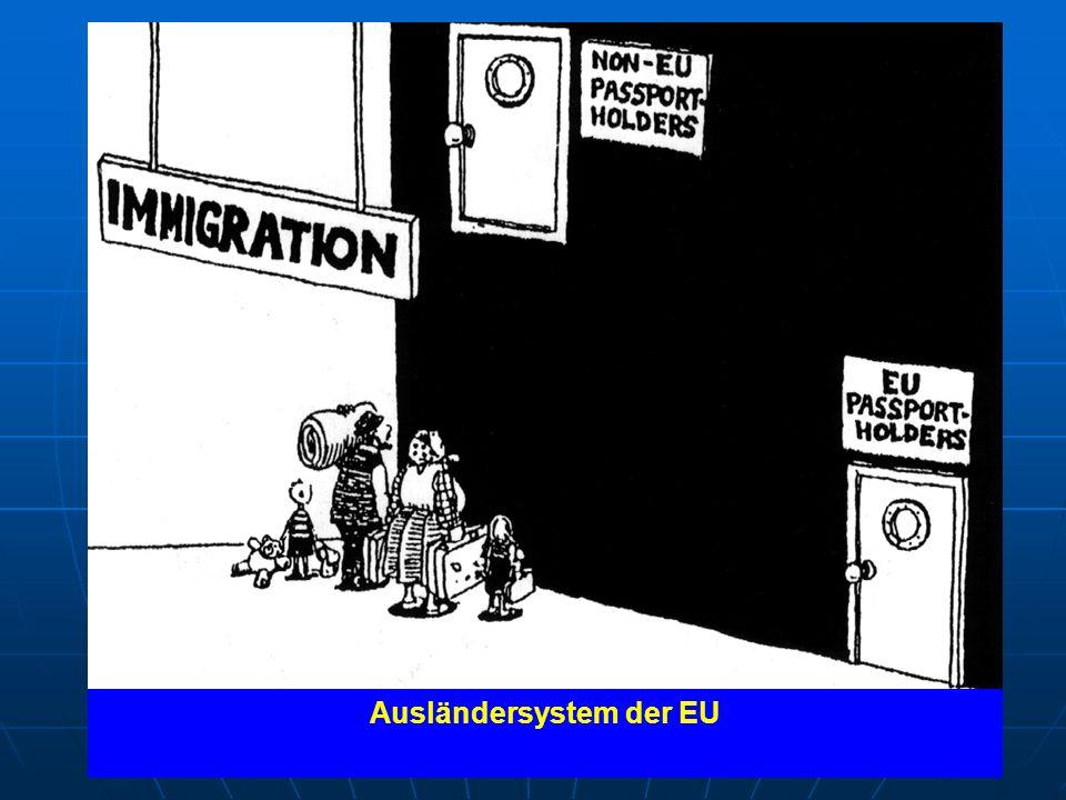 """""""Keine Mauer wird hoch genug sein, um die Menschen davon abzuhalten, zu kommen… Appell des UNHCR an EU-Staaten ihre Grenzen nicht vor Asyl suchenden zu verschließen Ausländersystem der EU Dublin-Verordnung"""