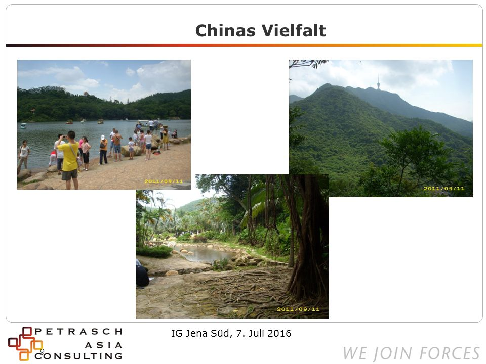 10 Chinas Vielfalt Shanghai Lijiazui – zwei Mal IG Jena Süd, 7. Juli 2016