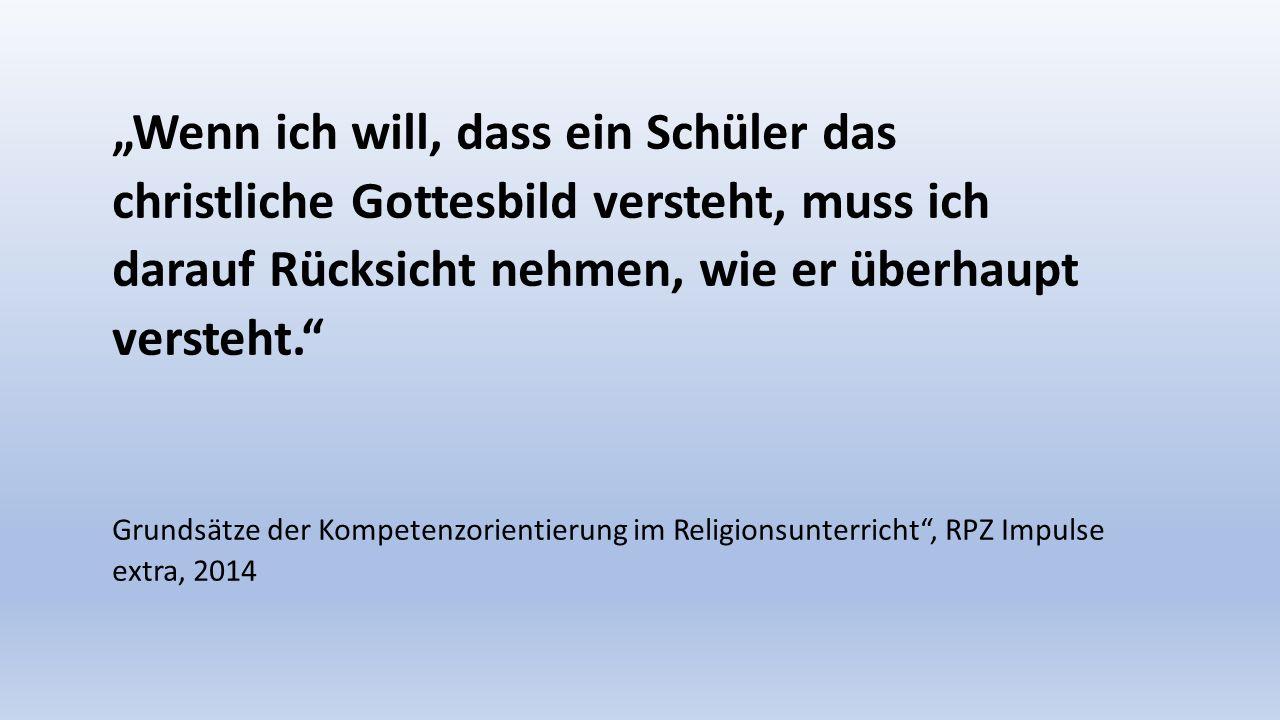 STAATSINSTITUT FÜR SCHULQUALITÄT UND BILDUNGSFORSCHUNG MÜNCHEN Und der Religionsunterricht
