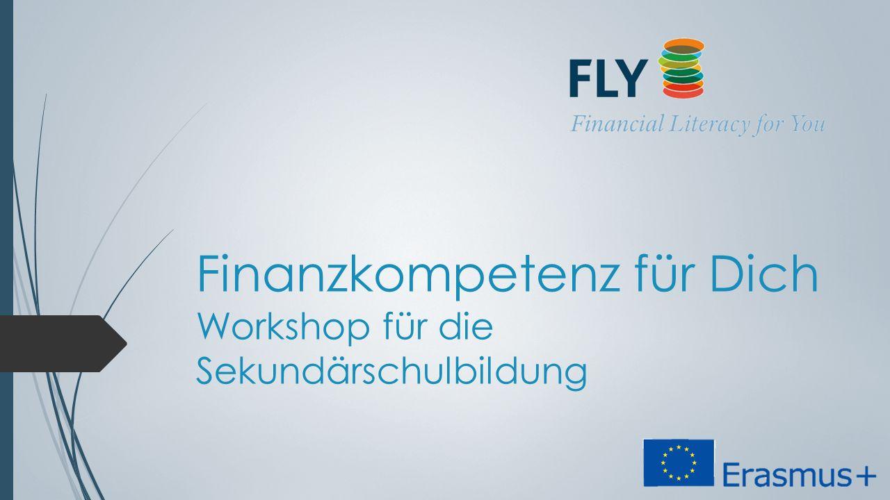 Finanzkompetenz für Dich Workshop für die Sekundärschulbildung