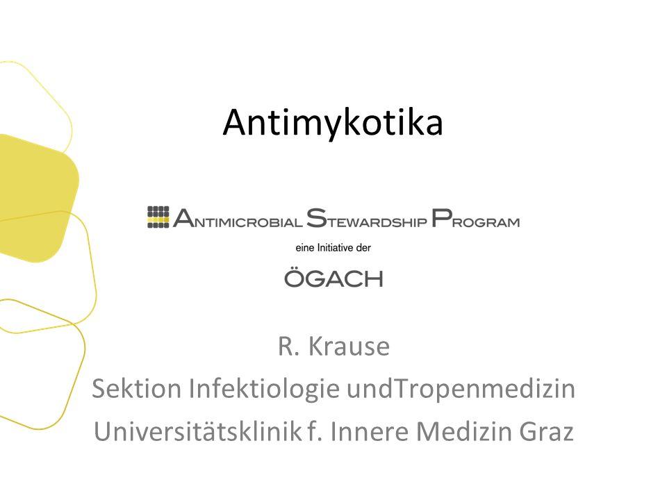 Voriconazol vs Ampho B bei invas.