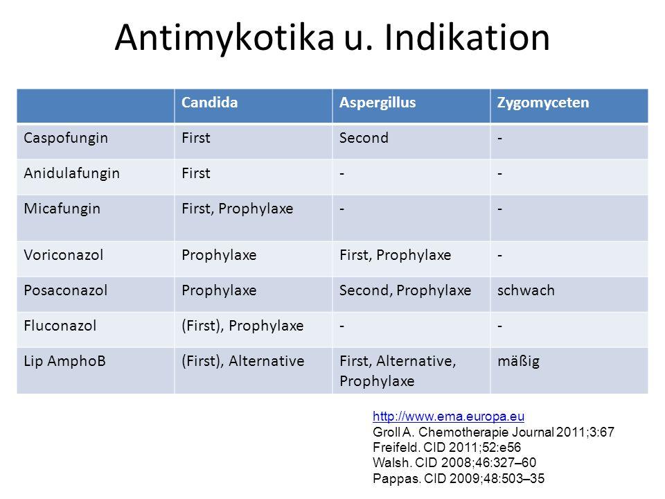 Antimykotika u.