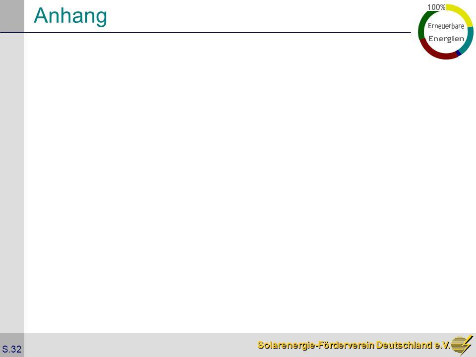 Solarenergie-Förderverein Deutschland e.V. S.32 Anhang