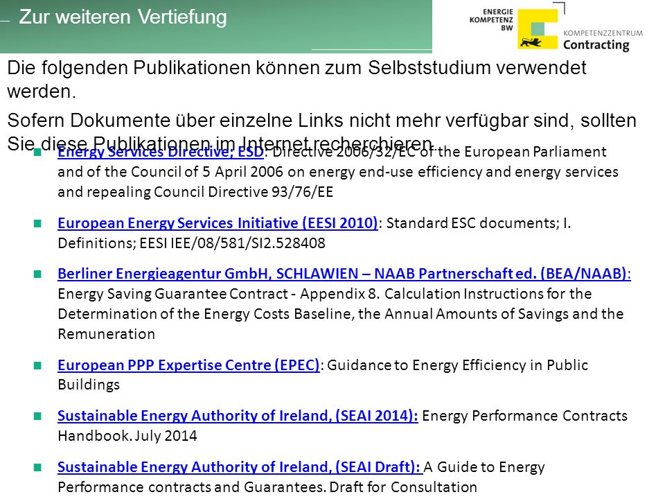 Energy Services Directive; ESD: Directive 2006/32/EC of the European Parliament and of the Council of 5 April 2006 on energy end-use efficiency and en