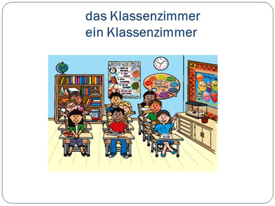 das Klassenzimmer ein Klassenzimmer