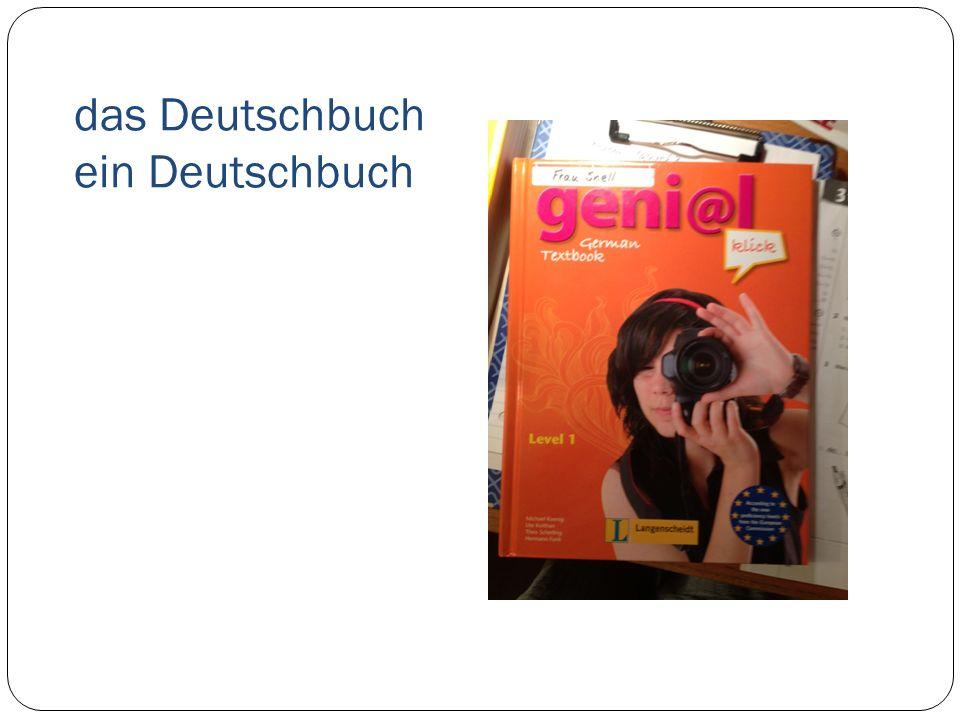das Deutschbuch ein Deutschbuch