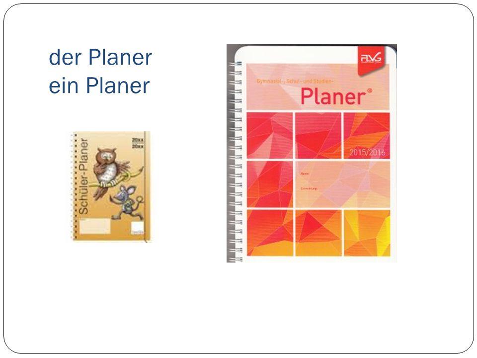 der Planer ein Planer