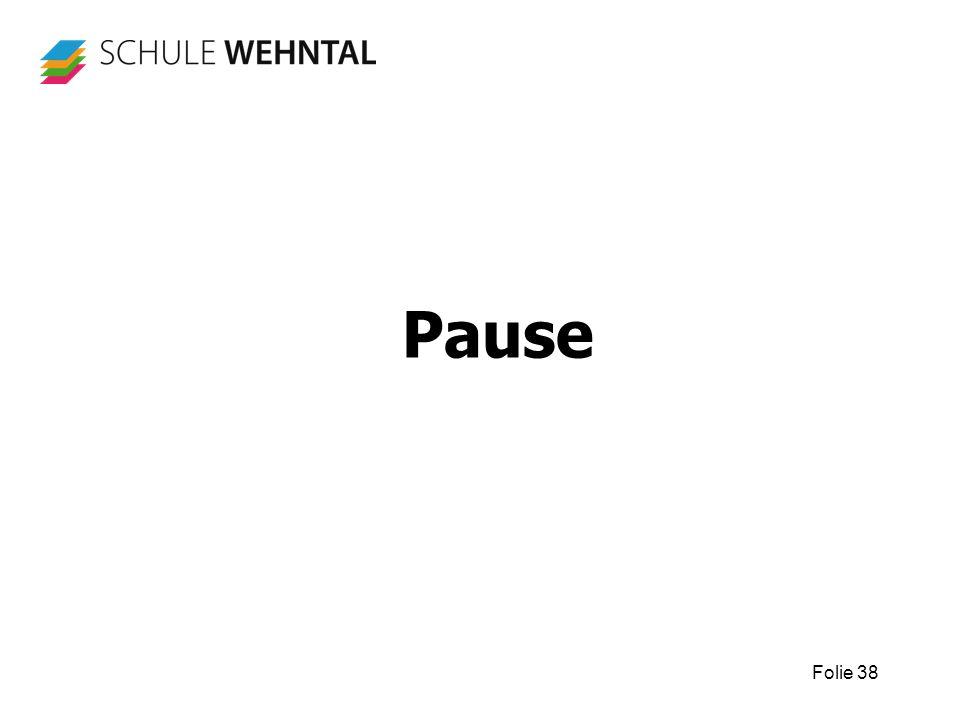Folie 38 Pause