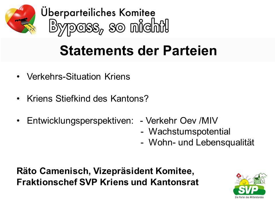 Verkehrs-Situation Kriens Kriens Stiefkind des Kantons.