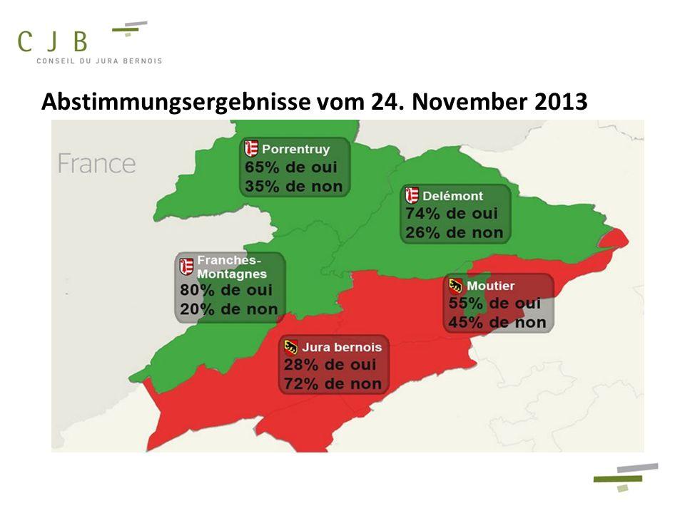 Abstimmungsergebnisse vom 24. November 2013