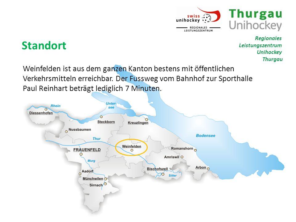 Standort Weinfelden ist aus dem ganzen Kanton bestens mit öffentlichen Verkehrsmitteln erreichbar.