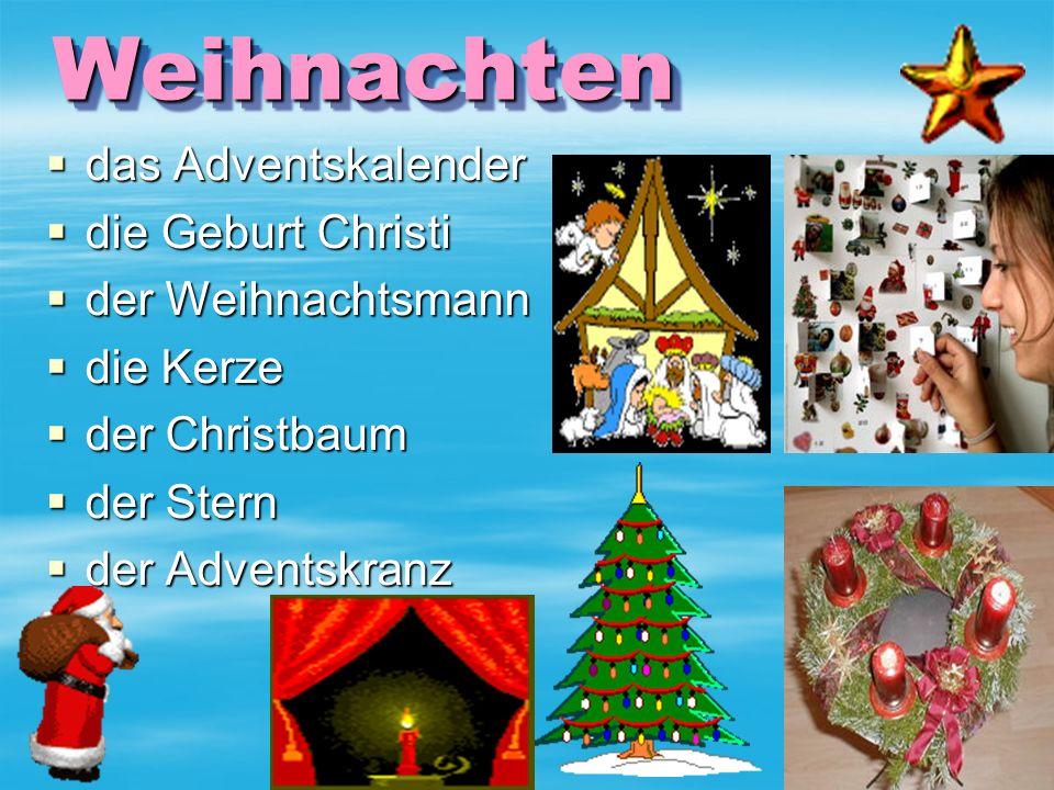 Weihnachten Weihnachten ddddas Adventskalender ddddie Geburt Christi dddder Weihnachtsmann ddddie Kerze dddder Christbaum dddder Stern dddder Adventskranz
