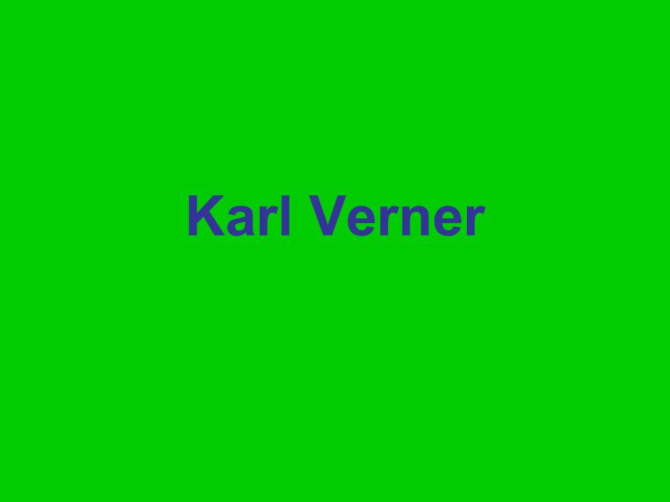 Karl Verner