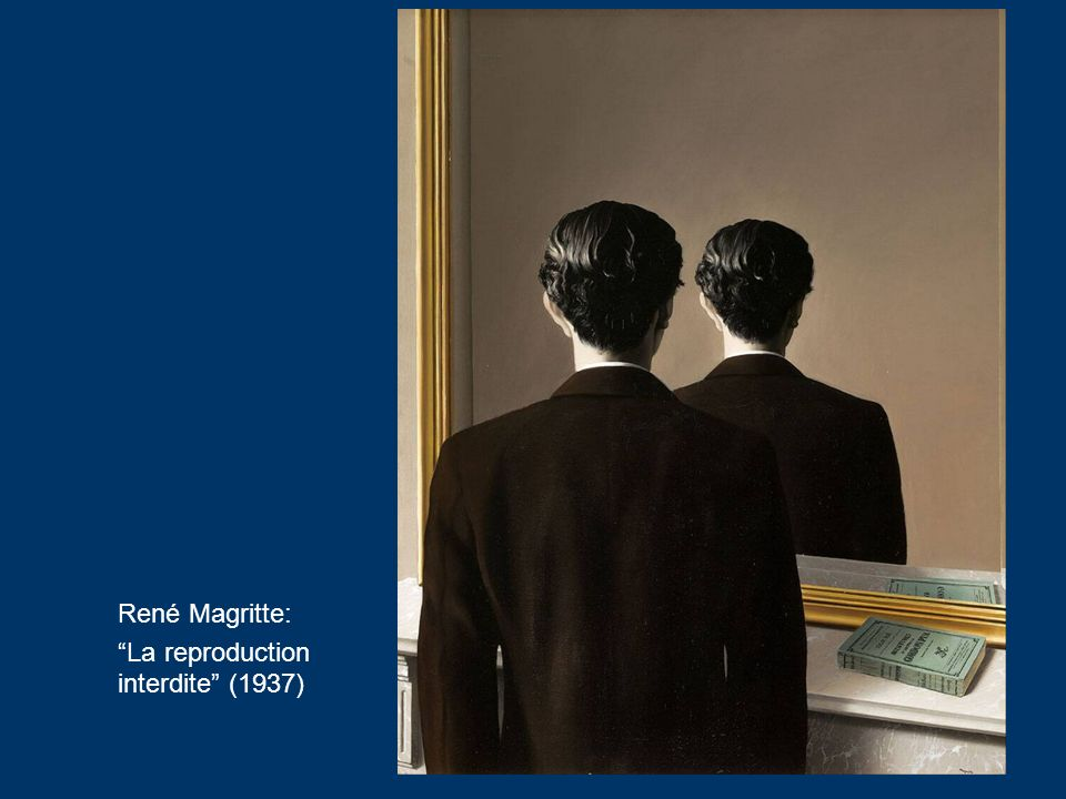 René Magritte: La reproduction interdite (1937)