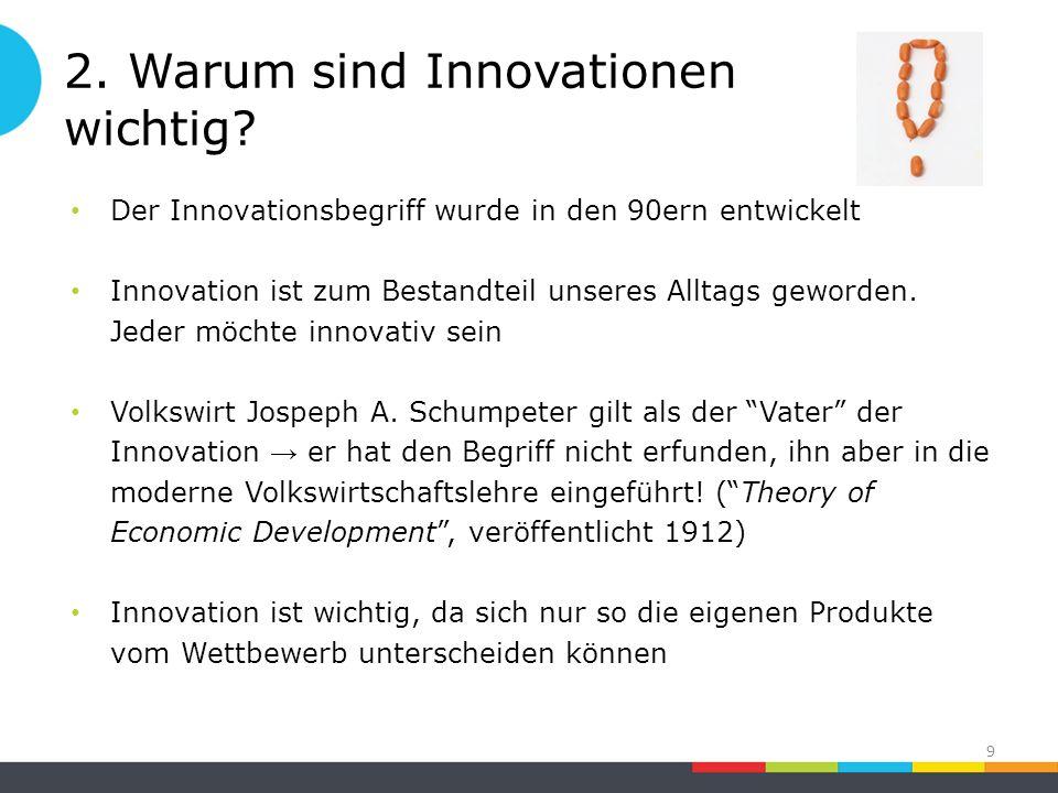 2. Warum sind Innovationen wichtig.