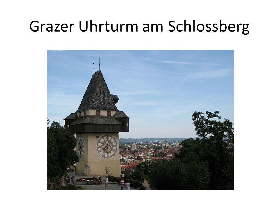 Grazer Uhrturm am Schlossberg