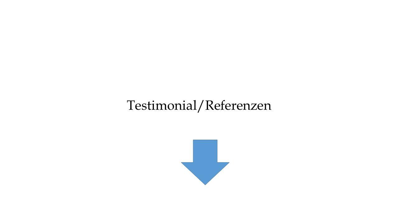 Testimonial/Referenzen