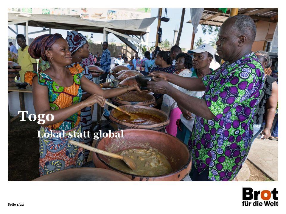 Seite 1/22 Lokal statt global Togo