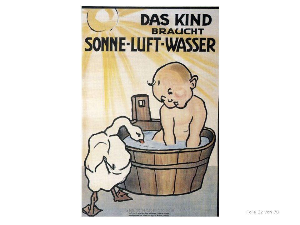 TU Dresden, 12.04.2012 Folie 32 von 70 Gesundheitspsychologie
