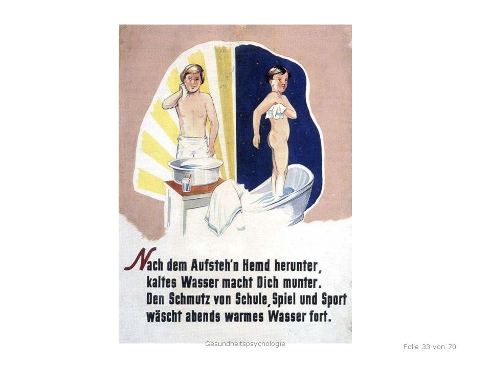 TU Dresden, 12.04.2012 Folie 33 von 70 Gesundheitspsychologie