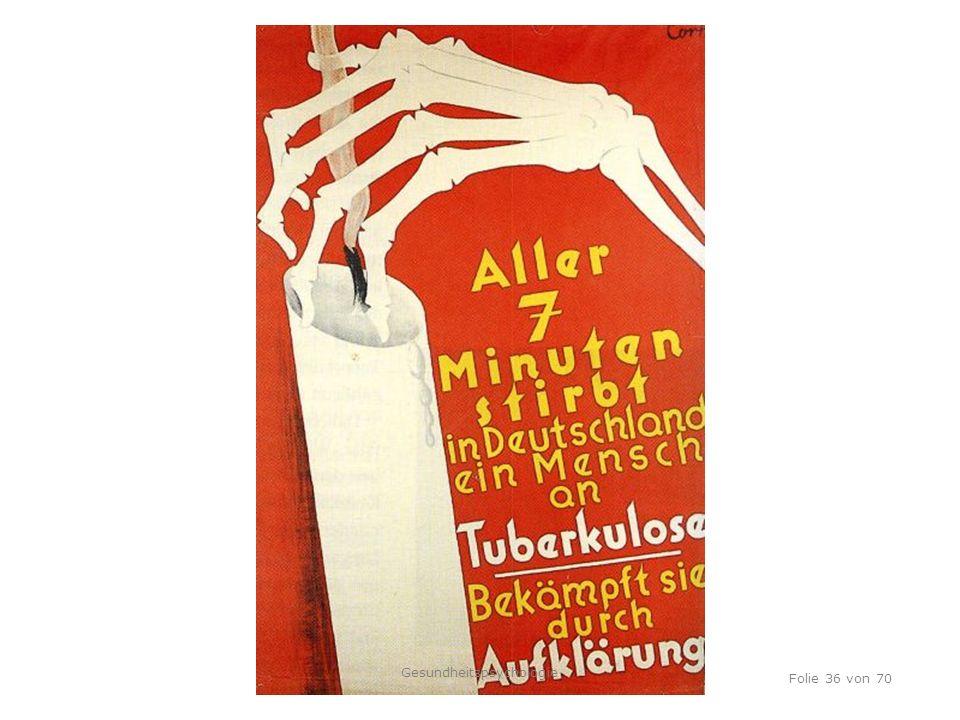 TU Dresden, 12.04.2012 Folie 36 von 70 Gesundheitspsychologie