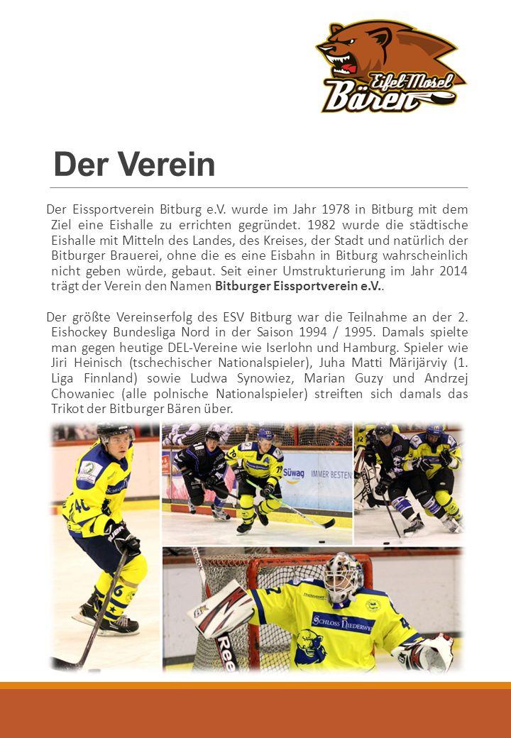 Der Verein Der Eissportverein Bitburg e.V.