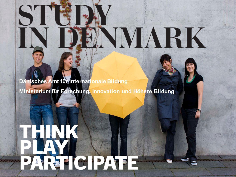 www.studyindenmark.dk Das Leben in Dänemark Studienjobs (15 Stunden pro Woche) National Student Guides (http://studyindenmark.dk/guides)http://studyindenmark.dk/guides Miete350 Haushalt270 Kleidung80 Bücher40 Nebenkosten80 Insgesamt820