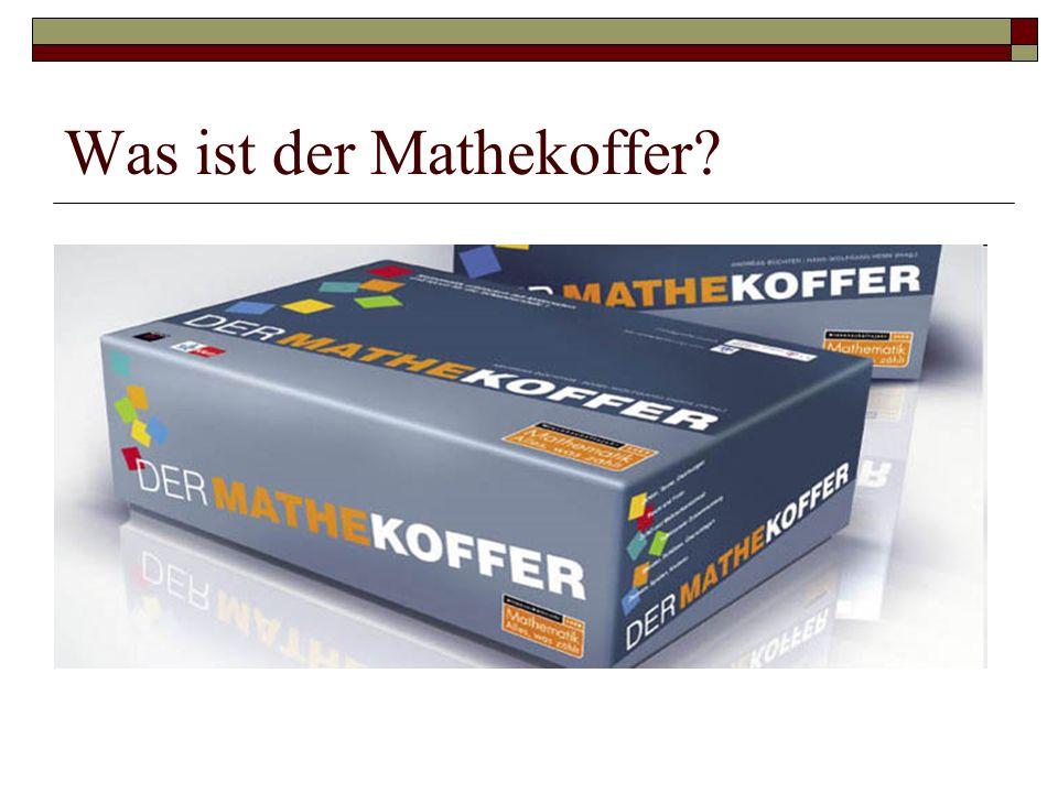 Was ist der Mathekoffer