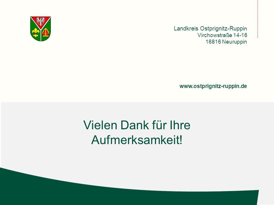 Landkreis Ostprignitz-Ruppi n Virchowstraße 14-16 16816 Neuruppin www.ostprignitz-ruppin.de Vielen Dank für Ihre Aufmerksamkeit!