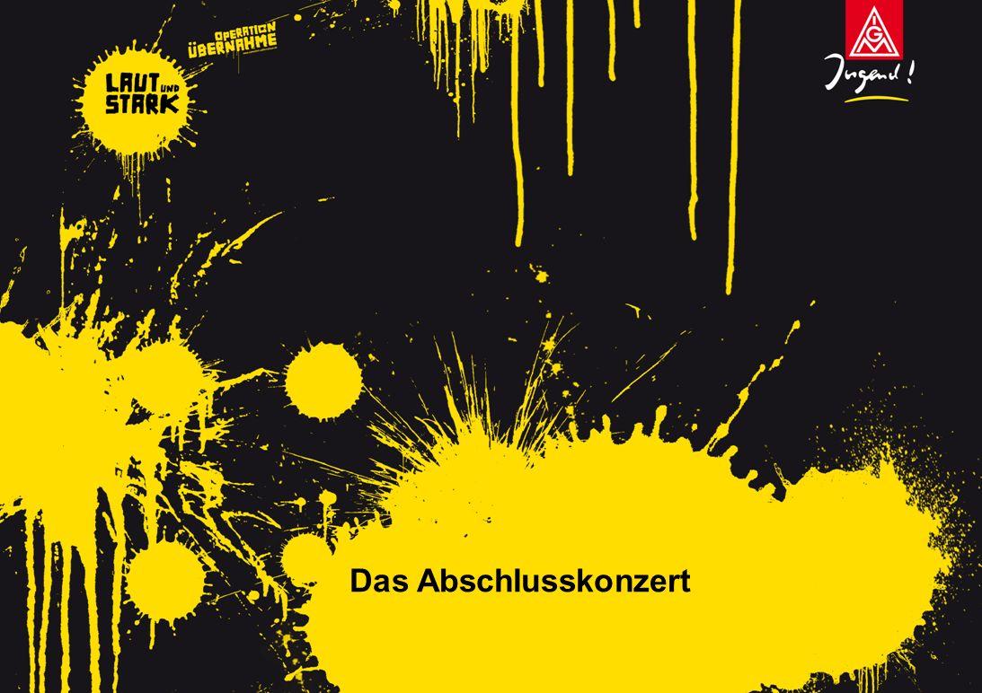 Laut und Stark in Köln.– Aktionstag der IG Metall Jugend am 1.