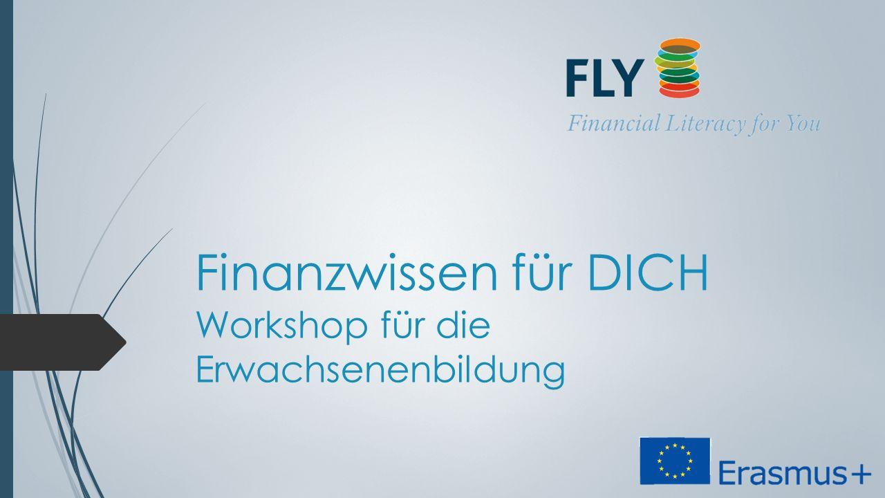 Finanzwissen für DICH Workshop für die Erwachsenenbildung